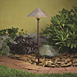 Landscape LED Hammered Roof Path Light by Kichler