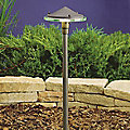 Landscape LED Glass and Metal Path Light by Kichler
