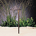 Landscape LED Side Mount Path Light - Cast Brass by Kichler