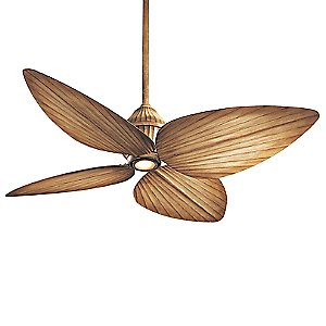 Gauguin Indoor/Outdoor Ceiling Fan with Light by Minka Aire (Beige) - OPEN BOX RETURN