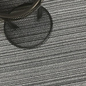 Skinny Stripe Shag Door Mat by Chilewich (Birch) - OPEN BOX RETURN
