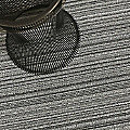 Skinny Stripe Shag Door Mat by Chilewich (Birch) - OPEN BOX RETURN