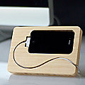 Chisel iPhone 4 Dock by iSkelter