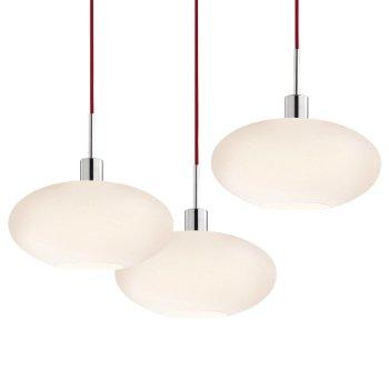 Grand Oval Multi-Light Pendant