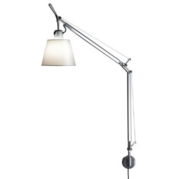 Tolomeo Wall Lamp (S Bracket/Parchment) - OPEN BOX RETURN