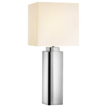 Mirror Square Table Lamp