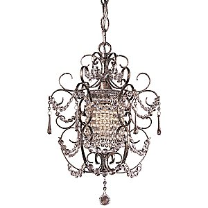 Mini Crystal Chandelier No. 3121 by Minka-Lavery