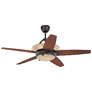 Arch Ceiling Fan with Light by Monte Carlo