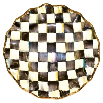 sc 1 st  mackenzie-childs : checkered dinner plates - pezcame.com