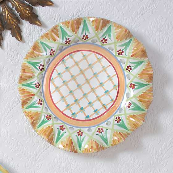 Taylor Fluted Dinner Plate - Kings Corners
