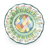 Taylor Fluted Rim Luncheon Plate - Poplar Ridge