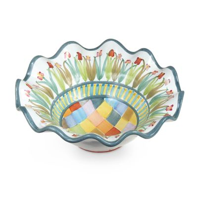 Taylor Fluted Breakfast Bowl - Poplar Ridge