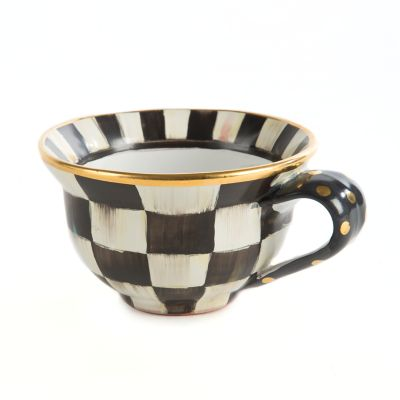 Courtly Check Teacup