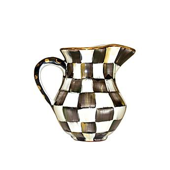 Courtly Check Creamer