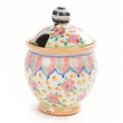 Taylor Sugar Bowl - Cabbage Rose