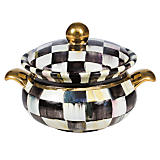 Courtly Check Lidded Chowder Bowl