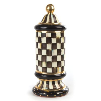Courtly Check Column Canister