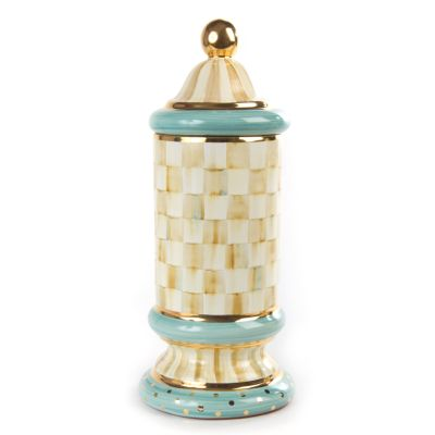 Parchment Check Column Canister