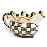 Courtly Check Sauce Boat