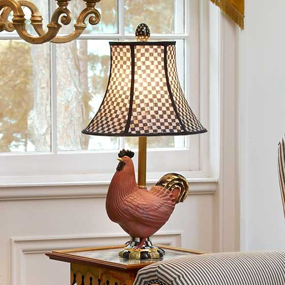 Mackenzie Childs Rooster Table Lamp