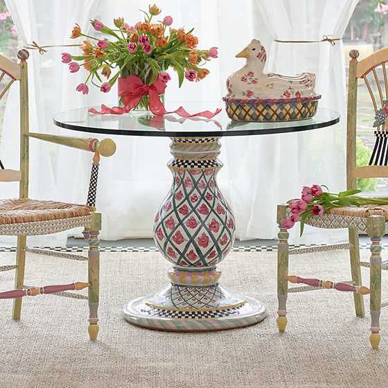 ... Carousel Pedestal Table Base ...