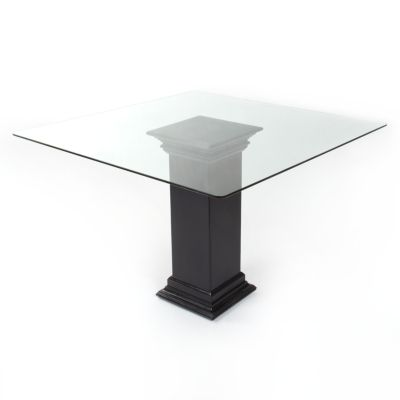 Glass Table Top for Outdoor Square Dining Table