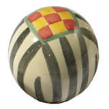 Taylor Ball Knob - Black & White Check