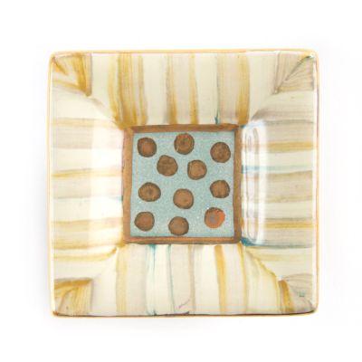 Parchment Stripe Knob