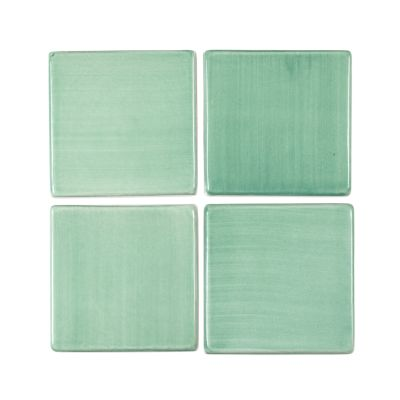 "4"" Square Tile - Green Bean"