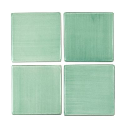"6"" Square Tile - Green Bean"
