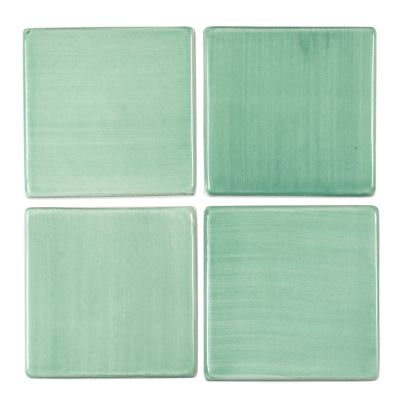"8"" Square Tile - Green Bean"