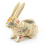 Dot & Decal Rabbit Planter
