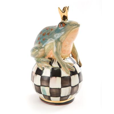 Frog on Ball - Courtly Check