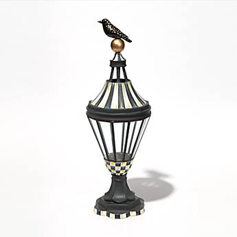 Bird on Ball Lantern - Tall