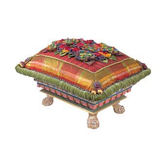 Flowerbox Footstool