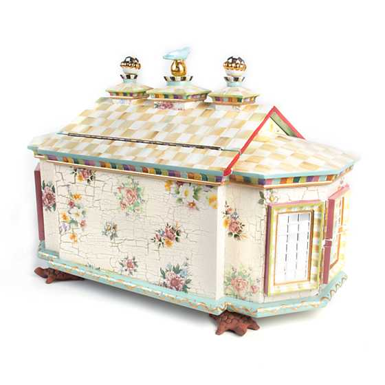 Mackenzie Childs Chicken Palace Jewelry Box