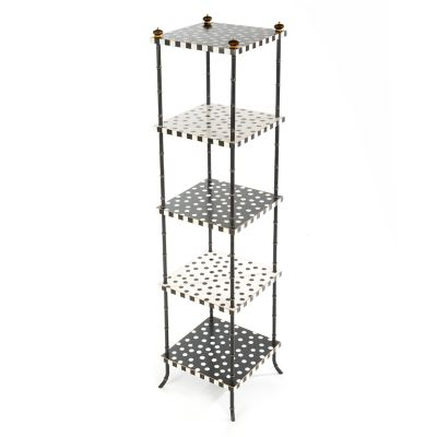 Dot Five Tier Table