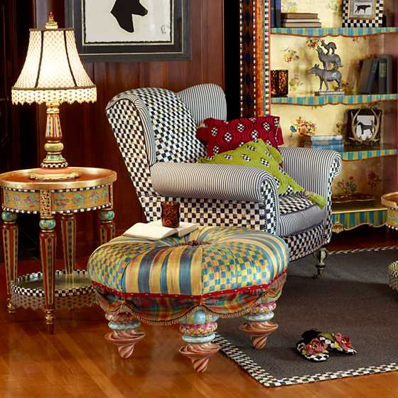 Mackenzie Childs Highland Accent Table
