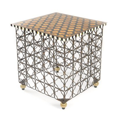 Quatrefoil Accent Table