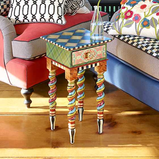 Barley Twist Table - Short