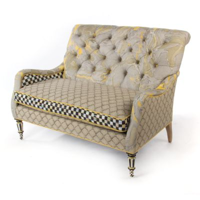 Courtly Palazzo Loveseat