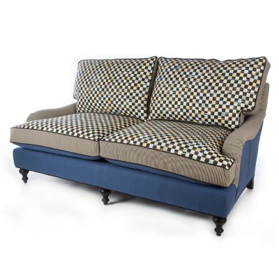 Underpinnings Studio Loveseat - Lake