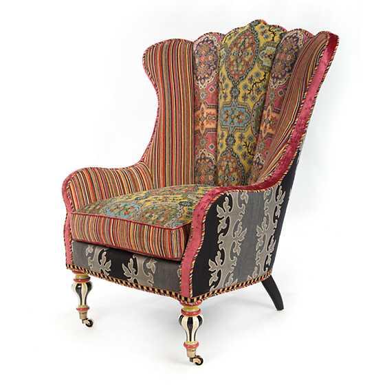 Mackenzie Childs Chelsea Occasional Chair