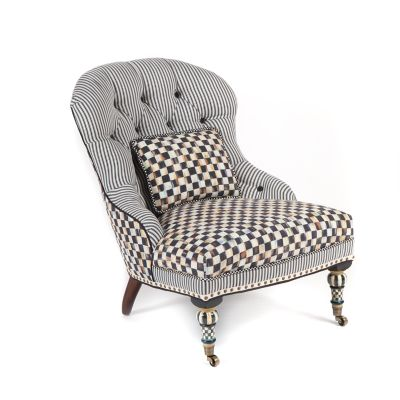 Courtly Check Underpinnings Accent Chair