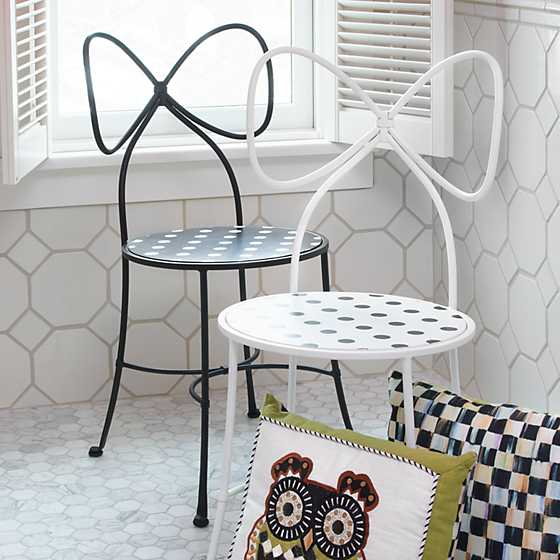 Bow Chair - White