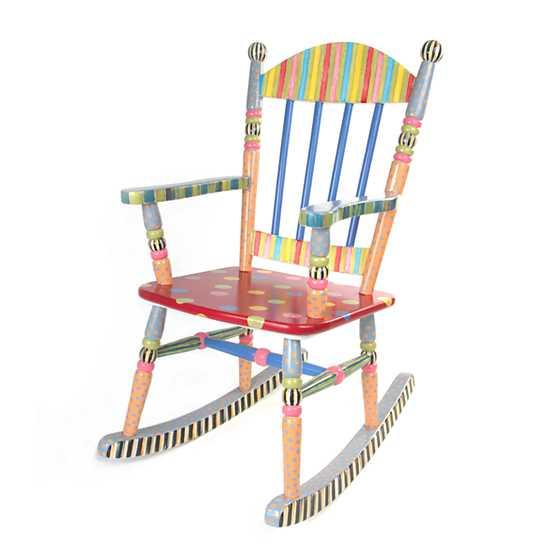 Mackenzie Childs Wee Rocking Chair