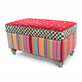 Playhouse Storage Bench