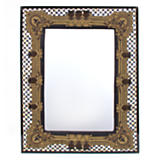 Courtly Check Embroidered Mirror - Large