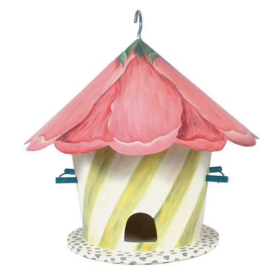Hollyhock Birdhouse