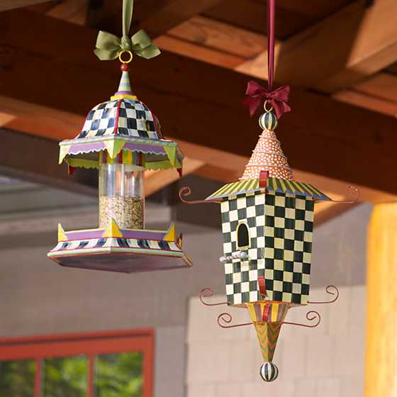 Mackenzie Childs Pagoda Birdhouse